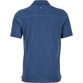 Marmot Wallace SS Polo Shirt Herre vintage navy heather